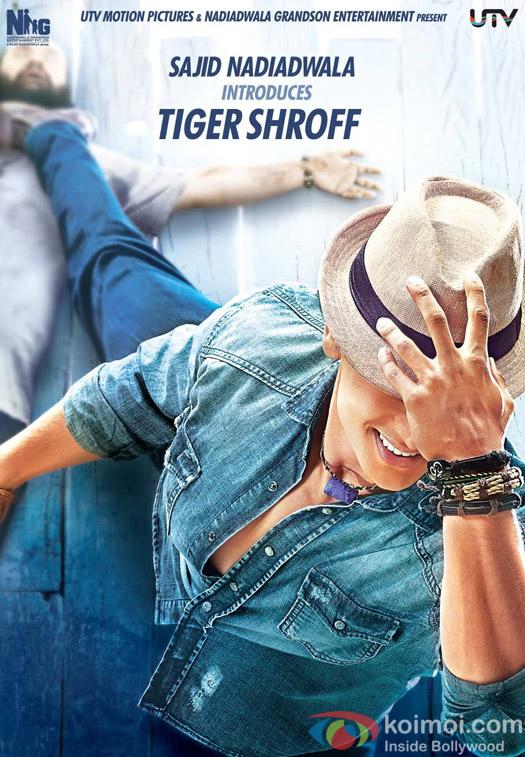 Tiger Shroff star 'Heropanti' movie first look poster