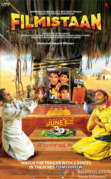 First Look Of 'Filmistaan' Movie Poster