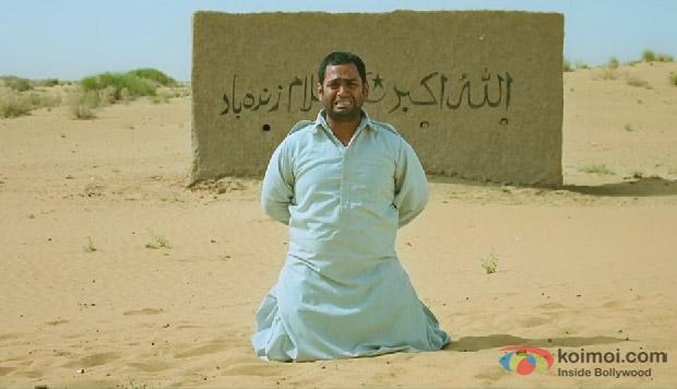 Sharib Hashmi in a still from movie 'Filmistaan'