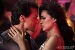 Tiger Shroff and Kriti Sanon in Heropanti Movie Stills Pic 6