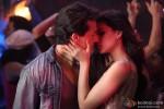 Tiger Shroff and Kriti Sanon in Heropanti Movie Stills Pic 8