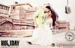 Akshay Kumar and Sonakshi Sinha in Holiday – A Soldier Is Never Off Duty Movie Stills