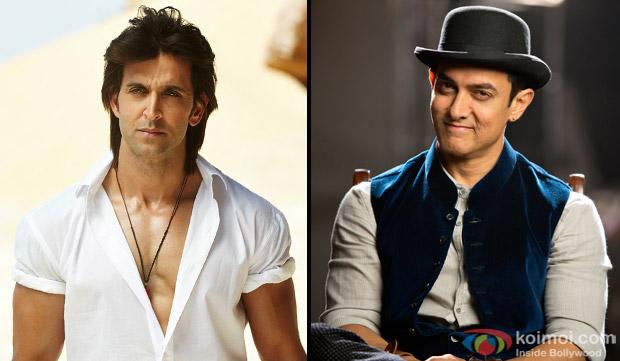Hrithik Roshan and Aamir Khan