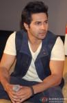 Varun Dhawan during the promotion of film 'Main Tera Hero' in Delhi