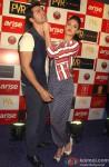 Varun Dhawan and Ileana DCruz during the promotion of film 'Main Tera Hero' in Delhi Pic 2