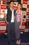Varun Dhawan and Ileana DCruz during the promotion of film 'Main Tera Hero' in Delhi Pic 3