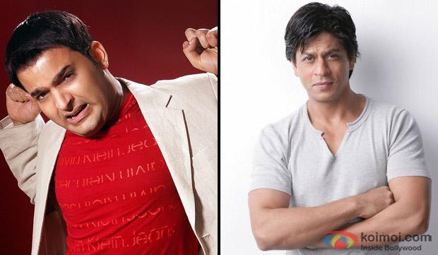 Kapil Sharma and Shah Rukh Khan