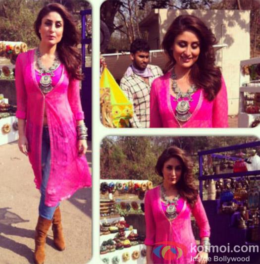 Kareena Kapoor Shooting In Akshay's Movie 'Gabbar'