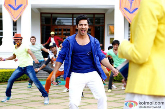 Varun Dhawan in a still from movie 'Main Tera Hero'