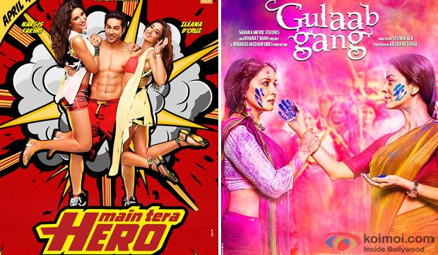 Main Tera Hero and Gulaab Gang Movie Poster