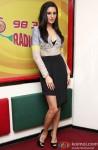 Nargis Fakhri during the promotion of film 'Main Tera Hero' at Radio Mirchi Pic 1