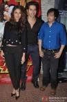 Ileana DCruz, Varun Dhawan and Kavish Majmudar during the success bash of Main Tera Hero & Ragini MMS 2