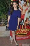 Alia Bhatt during the success bash of Main Tera Hero & Ragini MMS 2