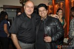 Anupam Kher during the party of Milap Zaveri