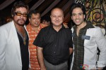 Shakti Kapoor, David Dhawan, Anupam Kher and Tusshar Kapoor during the party of Milap Zaveri