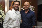 Gulshan Grover and Naved Jaffery during the party of Milap Zaveri