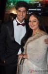 Tanuj Virwani and Rati Agnihotri during the music launch of 'Purani Jeans