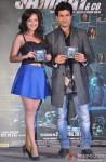 Madalasa Sharma and Rajeev Khandelwal during the music launch of 'Samrat & Co.'