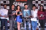 Mithoon, Ankit Tiwari, Madalasa Sharma, Rajeev Khandelwal, Kaushik Ghatak and Kavita Barjatya during the music launch of 'Samrat & Co.' Pic 1
