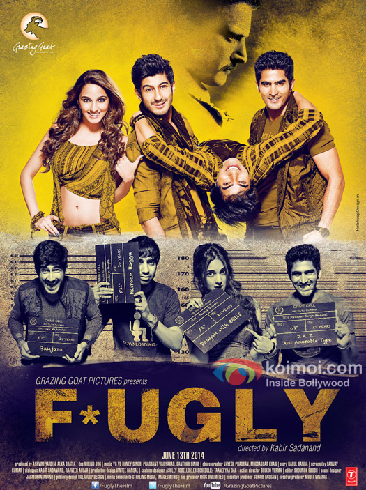 The First Look Poster Of 'Fugly'