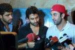 Arjun Kapoor, Jackky Bhagnani and Ranbir Kapoor attend special screening for 'Youngistaan'