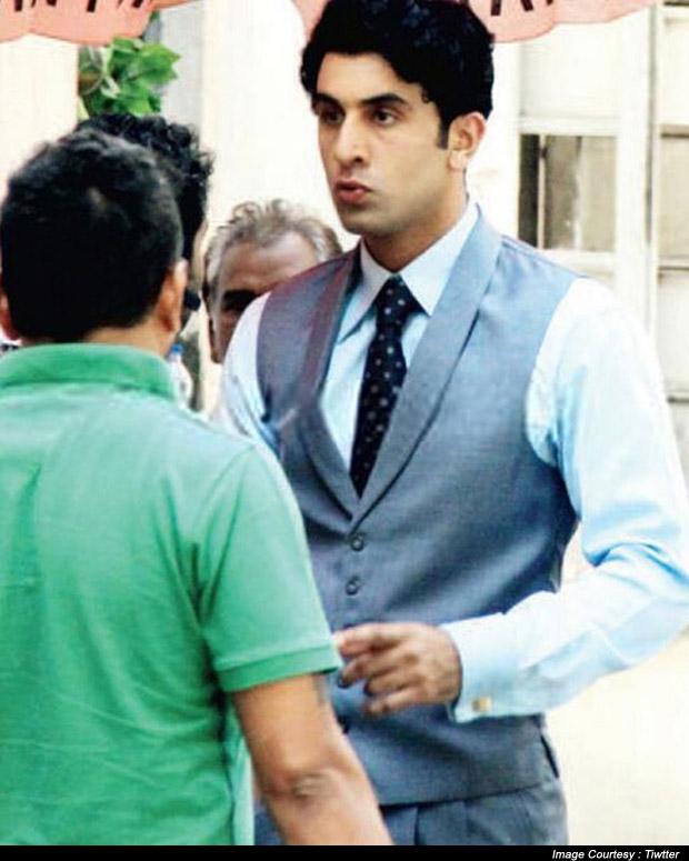 Ranbir Kapoor Retro Look From Movie Bombay Velvet