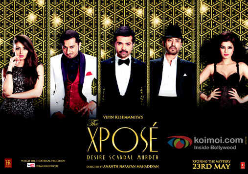First Look Poster Of 'The Xpose'