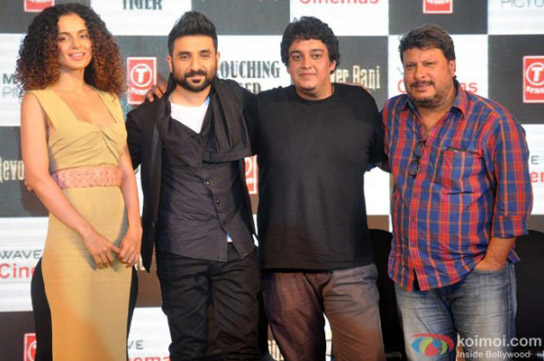 Kangana Ranaut, Vir Das, Sai Kabir Shivasatav and Tigmanshu Dhulia the press meet of film 'Revolver Rani'