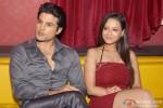 Rajeev Khandelwal and Madalasa Sharma during the press conference of film 'Samrat & Co.' in New Delhi Pic 1