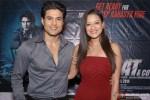 Rajeev Khandelwal and Madalasa Sharma during the press conference of film 'Samrat & Co.' in New Delhi Pic 2
