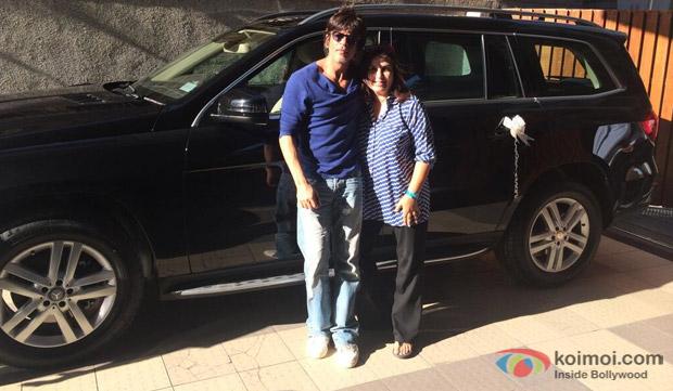 Shah Rukh Khan and Farah Khan