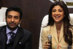 Raj Kundra and Shilpa Shetty attend a jewelry firm launch event Pic 1
