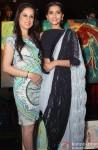 Sonam Kapoor at Rouble Nagi's painting exhibition in New Delhi Pic 4