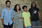 Saqib Saleem, Deepa Bhatia, Partho Gupte and Amol Gupte at the special screening of 'Hawaa Hawaai'