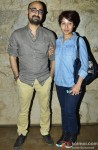 Hitesh Sonik and Sunidhi Chauhan at the special screening of 'Hawaa Hawaai'