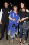 Zayed Khan, Zarine Khan and Farah Khan Ali at the special screening of 'Main Tera Hero'