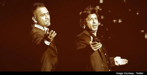 Mahendra Singh Dhoni and Shah Rukh Khan Deliver Terrific Performances At IPL Gala Dinner In Abu-Dhabi