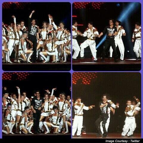 Shah Rukh Khan Deliver Terrific Performances At IPL Gala Dinner In Abu-Dhabi