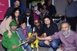 Asif Basra, Janaki Vishwanathan, Anshuman Jha and Raghu Ram during the promotion of 'Yeh Hai Bakrapur' film's music