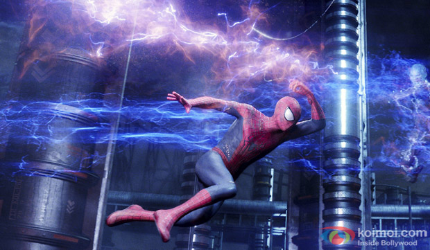 Still From Movie The Amazing Spiderman 2