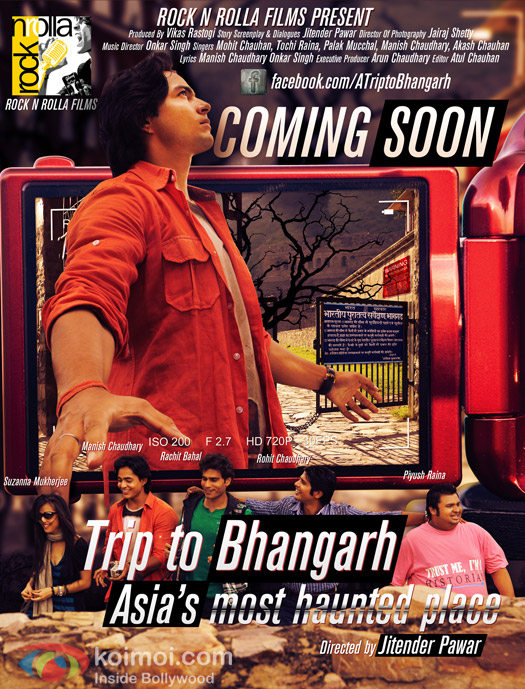 First Look of 'Trip to Bhangarh' Movie Poster