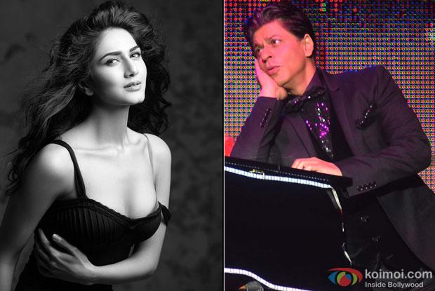 Vaani Kapoor and Shah Rukh Khan