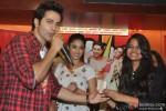 Varun Dhawan and Ileana DCruz during the promotion of film 'Main Tera Hero'