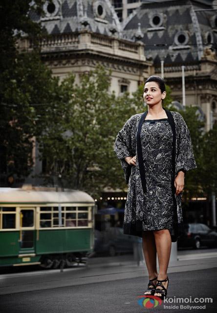 idya Balan's photoshoot with Australian designers - Akira Isogawa & Susan Dimasi