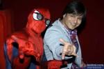 Vivek Oberoi meets Spiderman in Mumbai Pic 3
