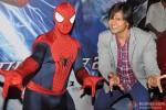 Vivek Oberoi meets Spiderman in Mumbai Pic 4