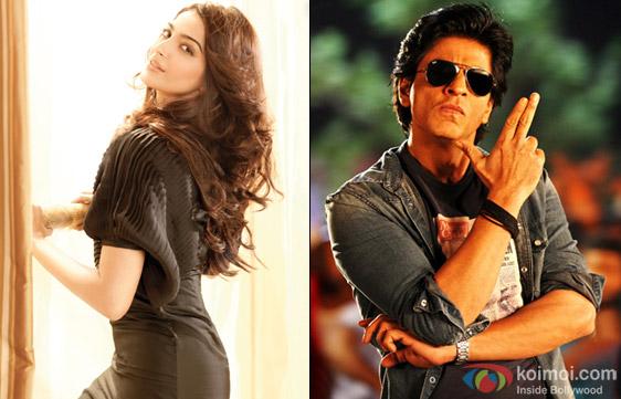 Sonam Kapoor and Shah Rukh Khan