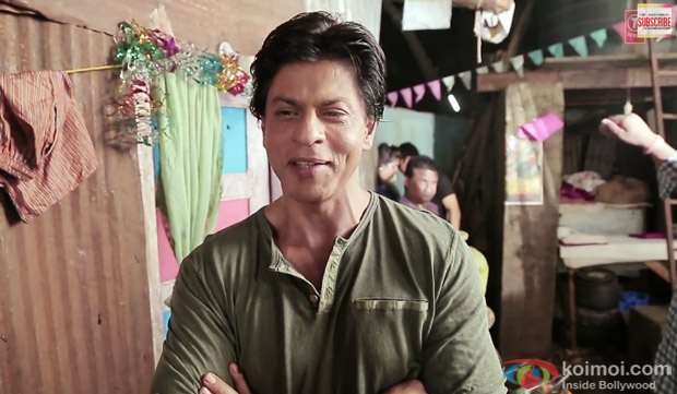 Shah Rukh Khan From The Sets Of Bhoothnath  Returns