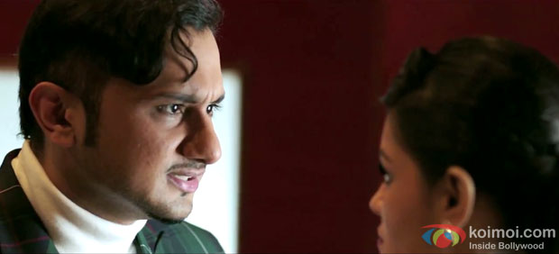 Honey Singh in a still from movie 'The Xpose'