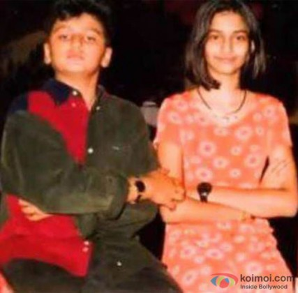 Arjun Kpaoor and Sonam Kapoor